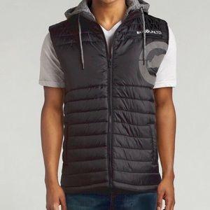 ECKO UNTLD Men's Rhino Quilted Hooded Puffer Vest